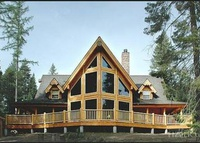 Log Home near Tamarack Resort in Idaho