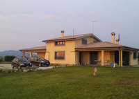 Big luxourios house (200 square meters) near main Rome in a rural
