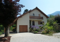 French Alps - Modern house in a typical village