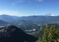Stunning mountain views in the recreational capital of Canada-Squamish