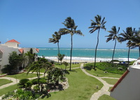 BEACHFRONT  ☀  AMAZING VIEWS ☀Relaxing ☀ 2 bedroom townhouse