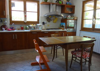 House with garden, 1,5 km to Tirreno sea, 1,5 km to Pietrasanta (Lu).