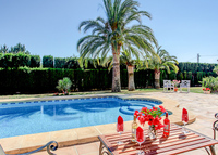 Luxury Villa in Javea, Spain.4 bedrooms.Beautiful  garden & large pool