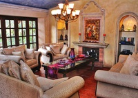 Luxury Spanish colonial villa five blocks from central park