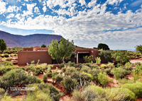 Nice adobe style home (4 bd / 3 ba), lovely night sky and mountains...