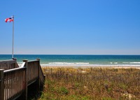 Oceanfront vintage beach cottage on beautiful Holden Beach, NC