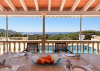 Amazing Villa in Ibiza, 6 Bedroom, Sunset house with nice sea views