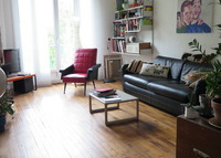 Apartment 80m2, 2 bedrooms+terrace in Clichy. 5' walk from Paris!