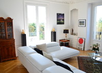 Beautiful Haussmann apartment 117m2 overlooking the Bois de Vincennes