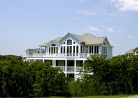 Fabulous 6 BR Semi Ocean Front Beach House Outer Banks NC