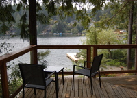 Private 1 bdrm  lakefront cottage.