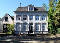 Landmarked house in village center of Boxtel