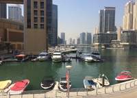 Marina view apartment in the heart of Dubai Marina. Large 1 bed
