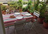 Noli, Liguria.  Apartment with terrace 300 m from the beach!