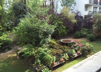 Neuilly, countryside in Paris, 110 sq.m watching private garden