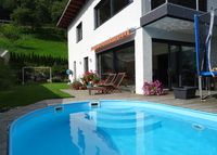 Alpvilla with pool