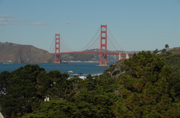 San Francisco with Golden Gate Views Spring 2019