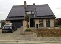 Lovely house in residential area with wellness area in central Belgium
