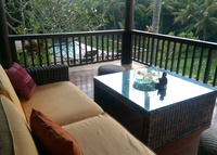 Beautiful Rice Field view - very quiet, homey pool villa....