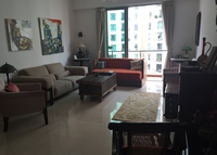 3 bedrooms 2 washrooms fully furnished .