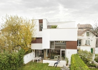 New architect house in south of Paris with direct subway access