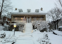 Québec City under snow for sunny destination- spacious home (4 br)