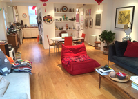 Lovely light, stylish home in a funky area close to Central London