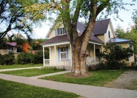 3 bedroom historic home on river,  5 minute walk to downtown retail