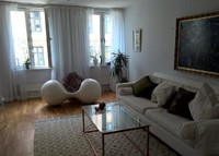 3 bedroom family apartment in the center of Stockholm, Sweden